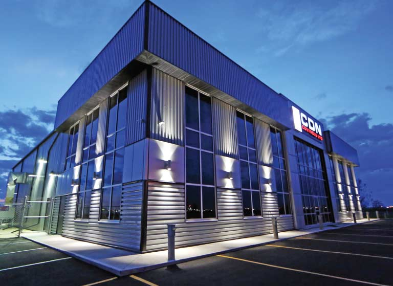 CDN Controls Ltd Building Photo - Westgate Industrial Park Grande Prairie